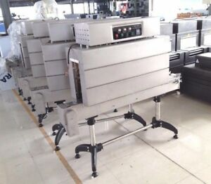 BSS-1538B CONTINUOUS FULL BOTTLE LABEL SLEEVE SHRINK TUNNEL MACHINE 220 VOLT
