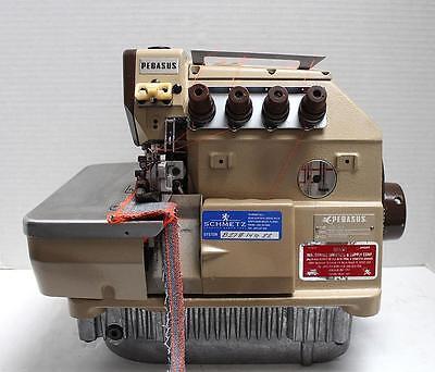 Pegasus S32-451 Overlock 2-needle 5-thread Industrial Sewing Machine Head Only