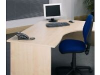 Quality Modern Maple Office Workstation W180xD120xH73cm