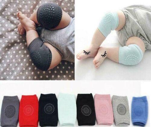 Kids Safety Crawling Elbow Cushion Infants Toddler Baby Knee Pads UK SELLER