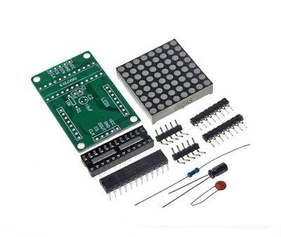 Max7219 Dot Matrix Control Display Module Diy Kit Cascade For Arduino