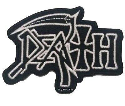 Death Parche Grupo Heavy Metal Música Chaqueta Bordado Plancha / de Coser