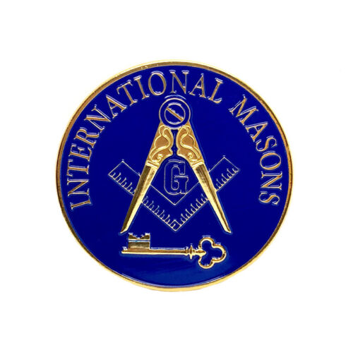 International Masons 3 1/4 inch car emblem #CINT