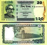 Bangladesh - 20 Taka 2014 Fds - Unc -  - ebay.it