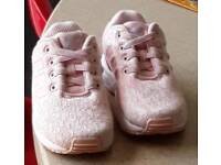 Little girls Adidas Trainers size infant 6