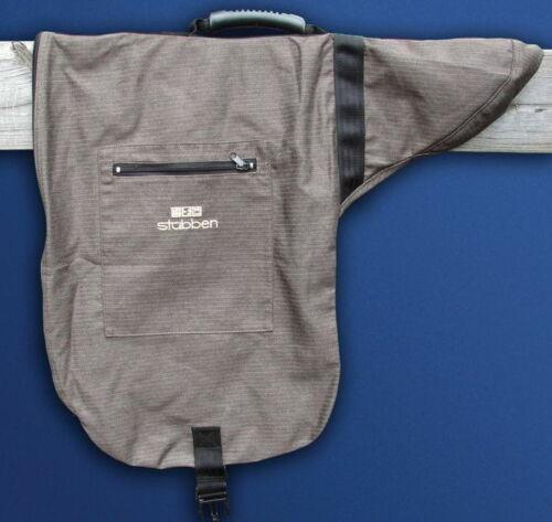 UNIQUE STUBBEN POSH Zipped TEXTILE Carrying Bag DRESSAGE SHOW VSD SADDLE Cover
