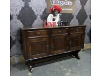 Fantastic Oak Sideboard Buffet Cabinet Possibly Old Charm - Delivery Available
