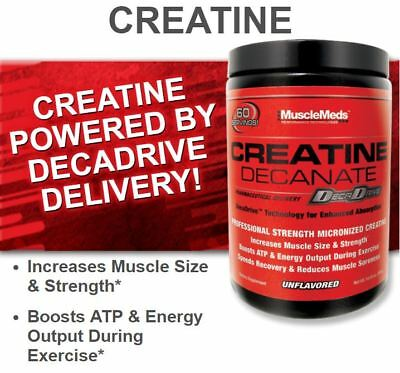 MuscleMeds CREATINE Decanate 300g Micronized - 60 servings BUILD MUSCLE - SALE
