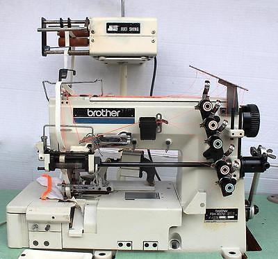 Brother Fd4-b272 Elastic Attaching Coverstitch Industrial Sewing Machine 110v