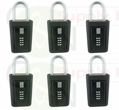 Key Storage Lock Box Real Estate 4 Digit Lockbox Realtor Lockboxes Pack Of 6