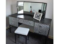 Stylishly upcycled 1960's dresser
