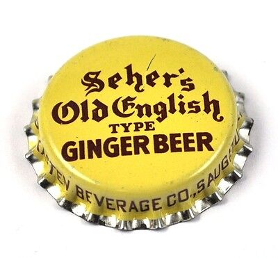 Bottle Cap SEHER/'S OLD ENGLISH GINGER BEER Cork CROWN