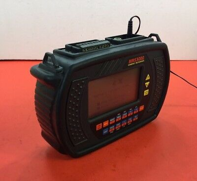Commtest Mms3000 T6v4 Data Logger With Power Supply Shoulder Strap. 2a