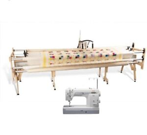 Gracie King Janome 1600P Starter Quilting Frame System St Marys Penrith Area Preview