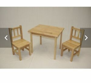 Looking for children's table and chair set