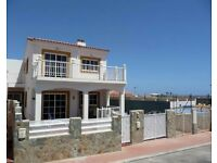 3 BEDROOM HOLIDAY HOME FOR RENT, GOLF COURSE, CALETA DE FUSTE, FUERTEVENTURA