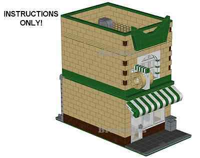 LEGO Donut Shop Modular Building Custom Instructions USB Flash Drive ()