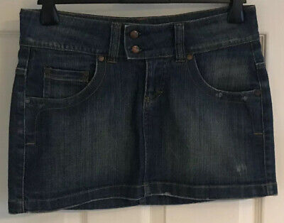 O'Neill Blue Denim Skirt Size Small