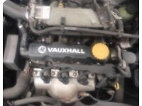 VAUXHALL ASTRA, 1.6 8v, 2005 ENGINE FOR SALE
