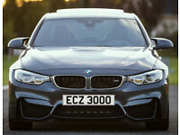 ECZ 3000 – Price Includes DVLA Fees - Cherished Personal Private Registration Number Plate