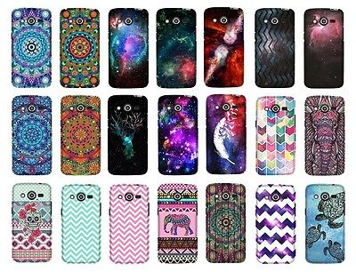 For Samsung Galaxy Avant G386t Design Snap On Protector Hard Cover Phone Case