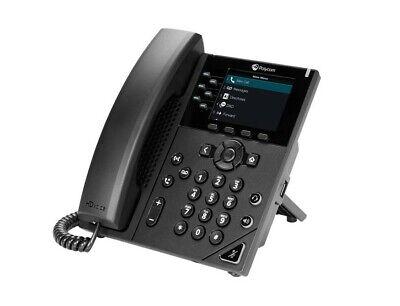 Polycom Vvx 350 Voip Business Phone W Power Adapter 2200-48832-001