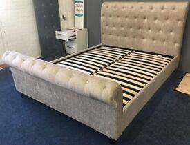 Ravello Kingsize Upholstered Bed Frame