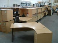 Nearly New Radial Cantilever Office/Home Workstation - FREE DELIVERY & FREE ASSEMBLING