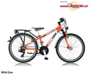 "KTM, Kinderrad, WILD ONE, 24"", 21-G, orange, Mod. 12"