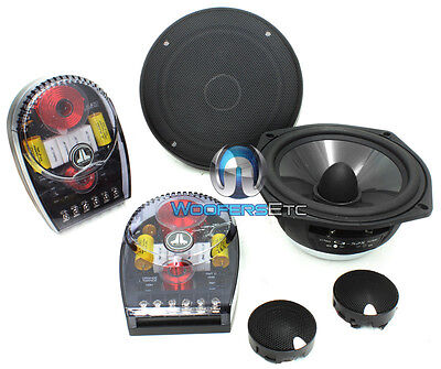 C3-525 Jl Audio 5.25 Convertible Component Speakers Mids Tweeters Crossovers on sale