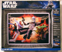STAR WARS THE CLONE WARS LEARNING LAPTOP *NEW*