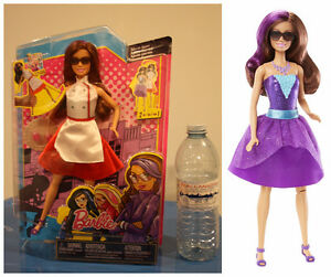 BRAND NEW IN THE BOX BARBIE SPY SQUAD 2 IN 1 SECRET AGENT DOLL