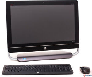 HP all in one touch screen 23 in PC wireless mouse and keyboard