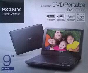 Sony DVP-FX980, Lecteur DVD portable  (Boite Neuve)