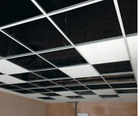 DROP CEILING, SUSPENDED CEILING COMMERCIAL AND RESIDENTIAL