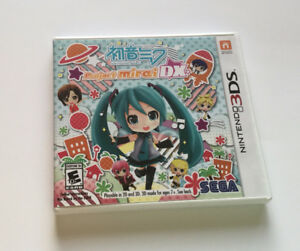 Hatsune Miku: Project Mirai DX 3DS Game (used)