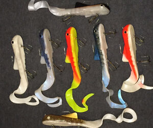 """Bulldog Muskie 1 3/4 lb. - 12"""" Body with 12"""" Curlytail"""