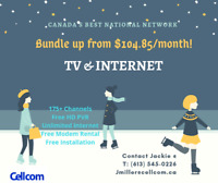 NEW TV & INTERNET from $104.85/month!