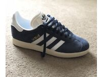 Womens navy Adidas gazelle suede trainers from Schuh size 5