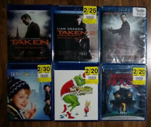 Brand New / Sealed Blu-Ray Movies for Sale