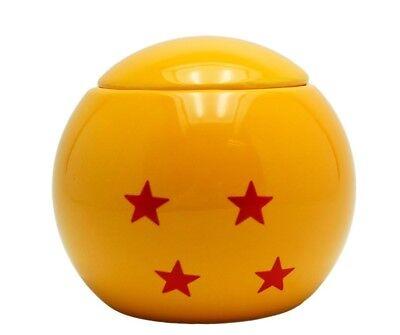 Taza de Cerámica Dragon Pelota Sphere 3D Forma Ovalada Taza con Tapa...