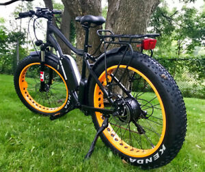 $100 OFF - IN STOCK - MadCat Electric Bicycle with 4inch tires!