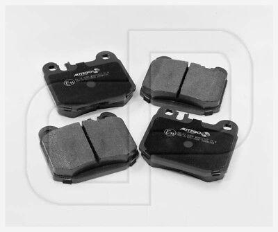 MERCEDES Bremsbeläge Bremsklötze ML KLASSE W163 hinten mit E-Prüfzeichen
