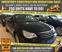 """CONSTRUCTION SALE! DROP TOP - TEXT """"AUTO LOAN"""" TO 519 567 3020"""