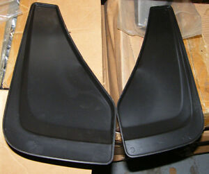 Mudflaps small with silver with black London Ontario image 2