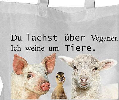 Tierrecht - Einkaufsbeutel Tasche VEGGIE Beutel Einkaufstasche - GO VEGAN 27