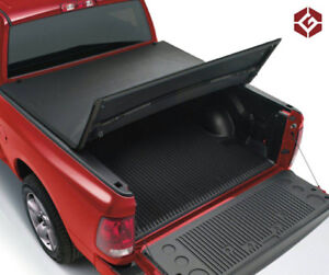 Soft Tri-Fold Tonneau Cover for 2009-18 Dodge Ram 1500/2500/3500