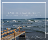Mini weekend getaway. Lake Erie waterfront cottage available.