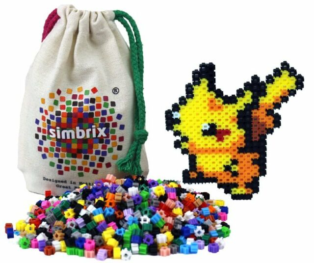"""Simbrix """"Cute"""" Kit for fans of fuse/melty beads - no peg board or Iron required"""