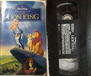 The Lion King - Disney 1994 VHS $5